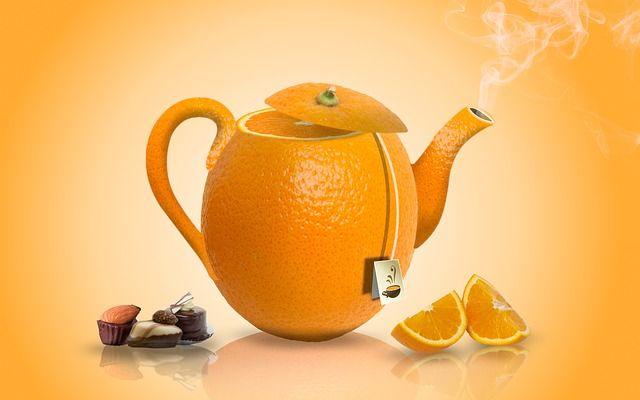 Narancs tea