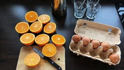 Narancs tojás diéta