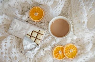 Narancsos forró csoki